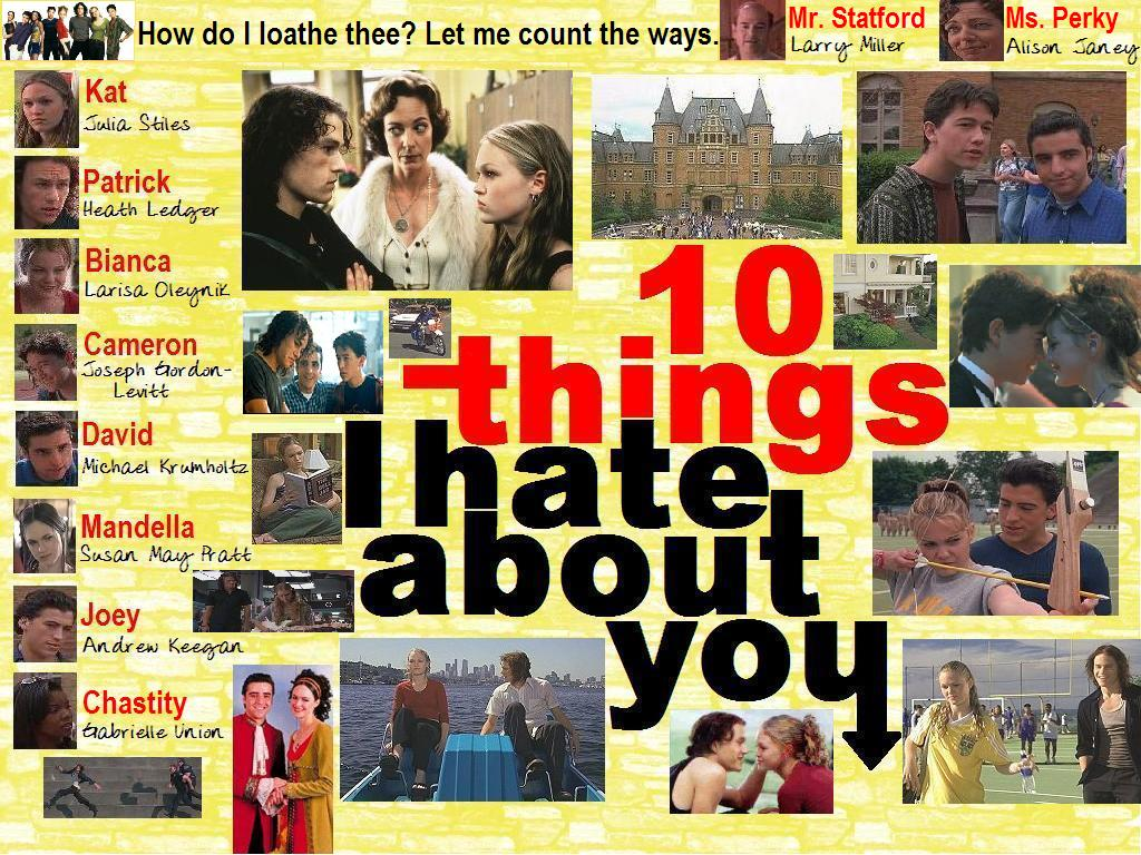 Ten Things I Hate About You: Reaching To My 26th Falls